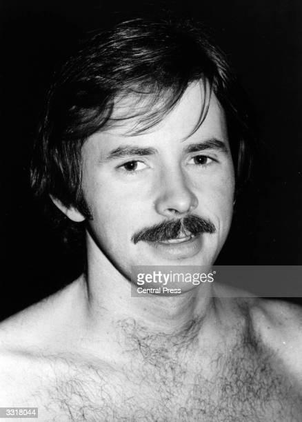 British Olympic swimming champion, David Wilkie.