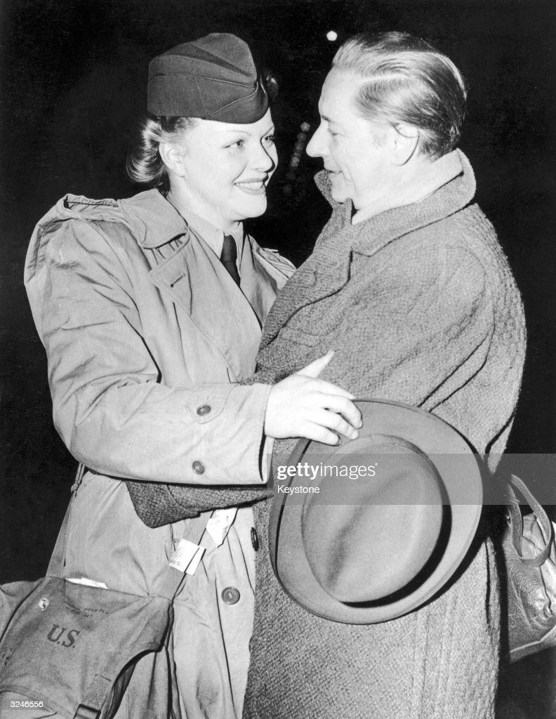 Marlene Dietrich's Daughter Actress Maria Manton Meeting
