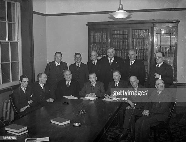 Eire's new Coalition Cabinet after John Costello became the new Premier of Eire in succession to Eamon De Valera. : D Morrissey, Minister for...