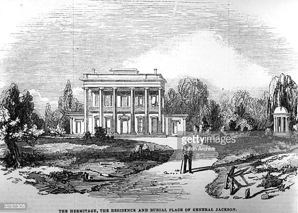 'The Hermitage' the house where General Andrew Jackson the 7th President of the United States of America lived and is buried