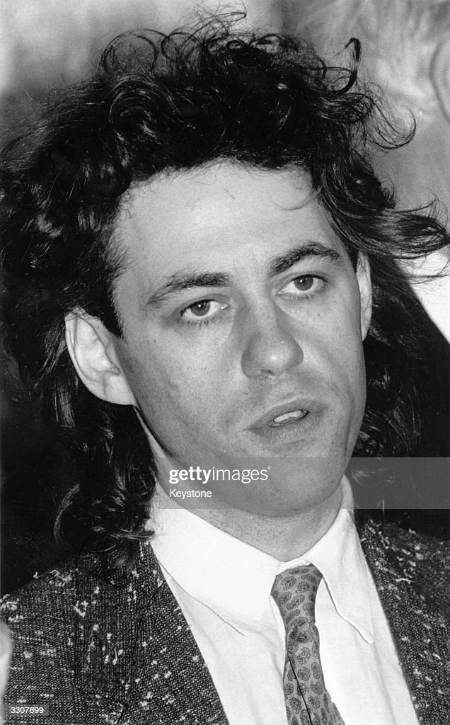 34 year old Bob Geldof, ex-singer with punk group the Boomtown Rats and organiser of the Live Aid concerts which helped raise money for the starving of Ethiopia. Geldof is at Canterbury Cathedral, where he received an honourary Master of Arts degree from the University of Kent.