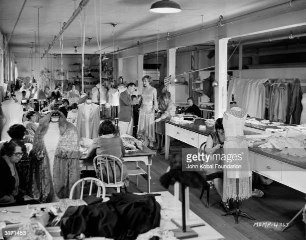 The MGM costume design department