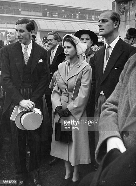 Queen Elizabeth II and Prince Philip during a tour of London's South Bank Exhibition The visit incorporated the opening of the newly built Royal...