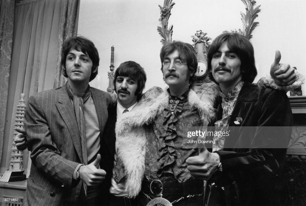 Sgt Pepper Beatles : News Photo
