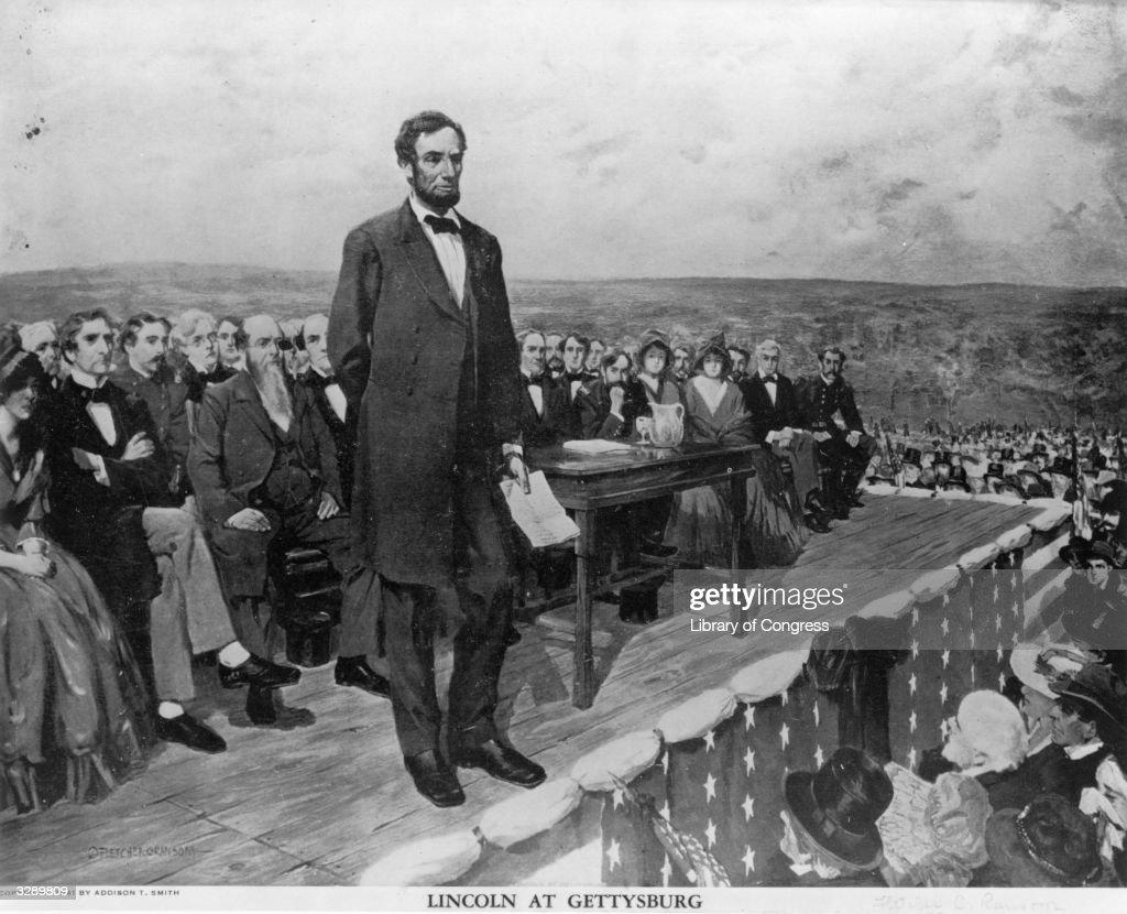 Gettysburg Address : News Photo