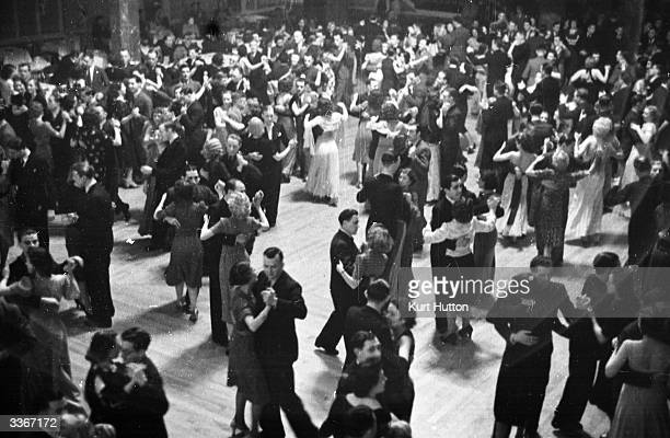 Dancers at the Ritz off Manchester's Oxford Street Original Publication Picture Post 41 Manchester pub 1938