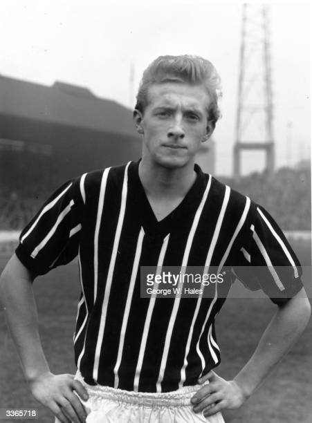Manchester City FC and Scottish International soccer player Denis Law who went on to win 55 caps for Scotland Law was signed for Huddersfield by Bill...
