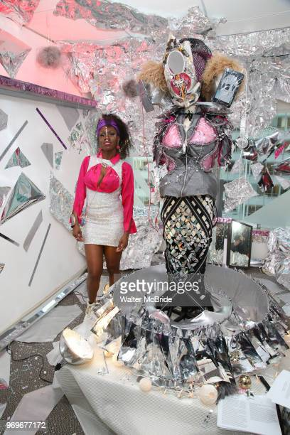 1Beauty Full MindÕ Art during The Chashama Gala at 4 Times Square on June 7 2018 in New York City