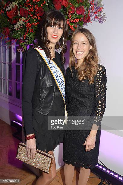 1ere Dauphine Miss France 2007 Sophie Vouzelaud and actress Estelle Skornik attend 'Aloha' Luxury Shop 1rst Anniversary Party Cocktail At Salons...