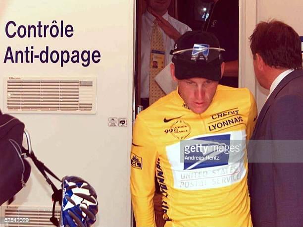 Etappe, MONTAIGU - CHALLANS; Lance ARMSTRONG/USA - GELBES TRIKOT -