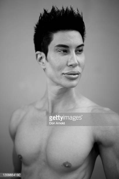1Justin Jedlica poses for portraits in Surry Hills on March 01 2020 in Sydney Australia