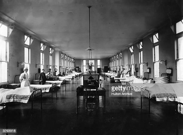 A ward in King's College Hospital Denmark Hill London