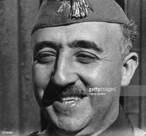 General Francisco Franco the nationalist leader and military dictator of Spain