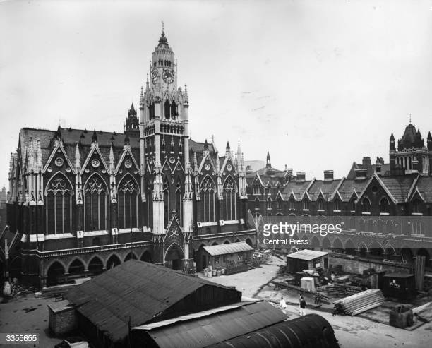 Columbia Market in Bethnal Green London Built in 1866 it was recently acquired by the London County Council for use as a depot and is scheduled for...