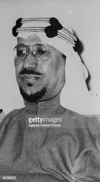Abdul Aziz Ibn Saud King of Saudi Arabia He was deposed in 1964 and replaced by Prince Faisal