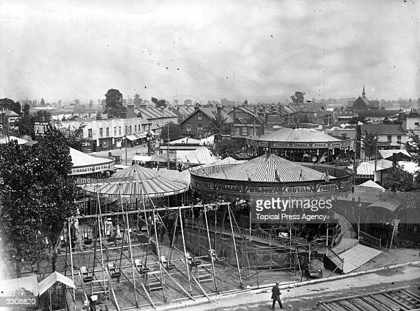 A general view of Mitcham Fair Surrey