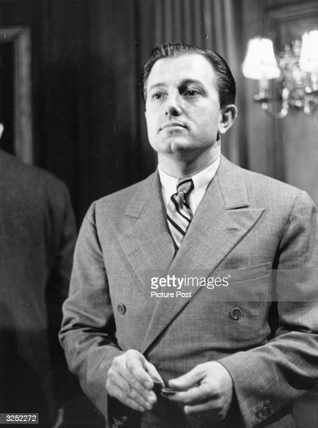 American film director Edward Dmytryk who gained a reputation for making tough adult thrillers in the 40's but his career suffered during the...