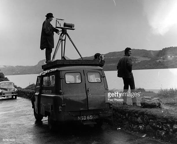 Members of the Loch Ness Monster Investigation Team scan the loch for a sighting of the monster References to a monster in Loch Ness date back to St...
