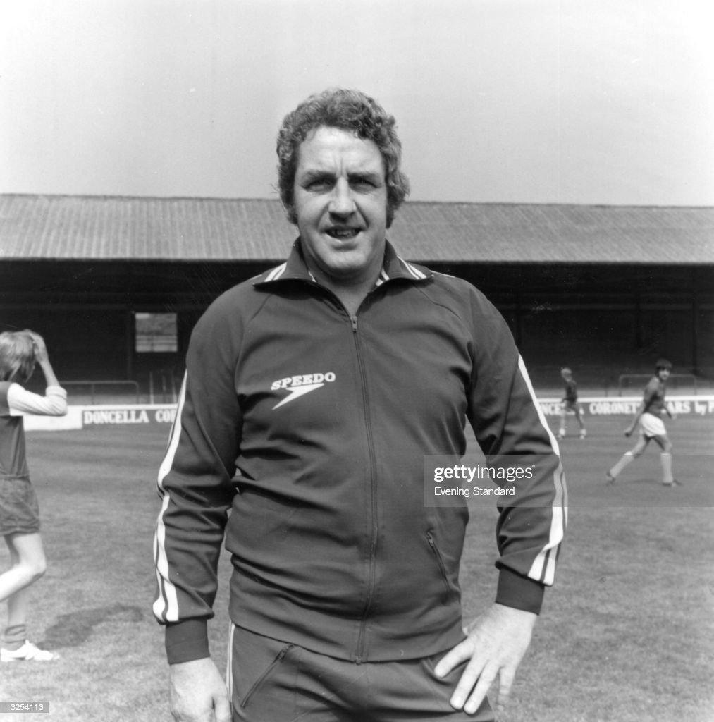Dave Mackay, former Nottingham Forest player and manager of Walsall FC.