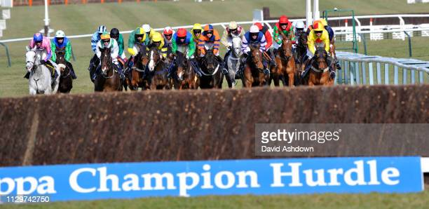 1st DAY 16/3/10. THE CHAMPIO HURDLE 1ST TIME ROUND.