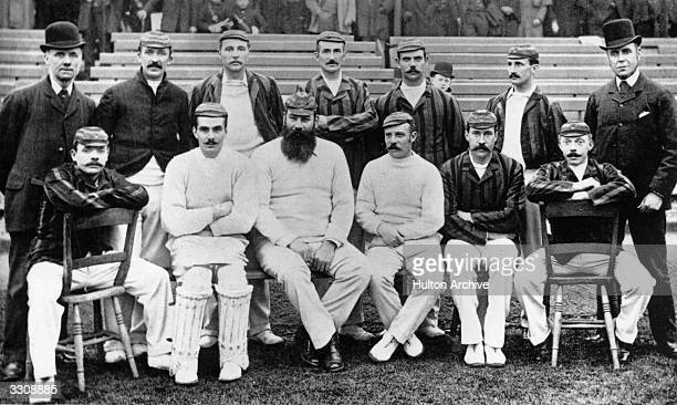 The England cricket team which toured Australia in 189192 with W G Grace as captain