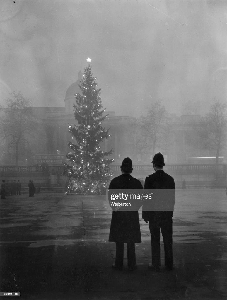 Foggy Christmas : News Photo