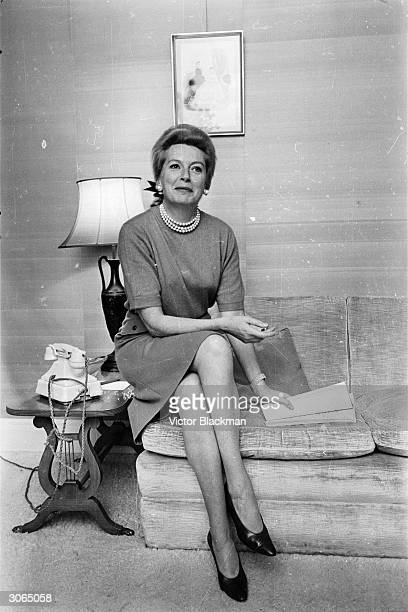 British actress Deborah Kerr who played longsuffering prim and proper types in Hollywood films until 1953 when she broke her typecast mould by...