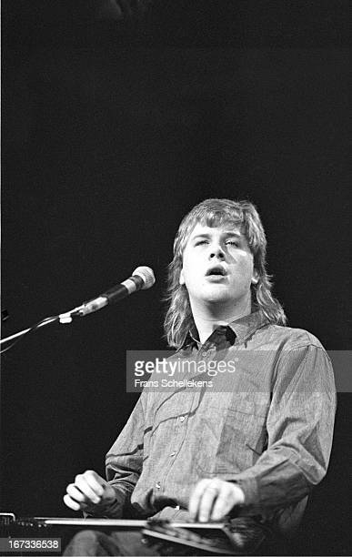 1st DECEMBER: Canadian guitarist Jeff Healey performs live on stage at the Paradiso in Amsterdam, Netherlands on 1st December 1988.