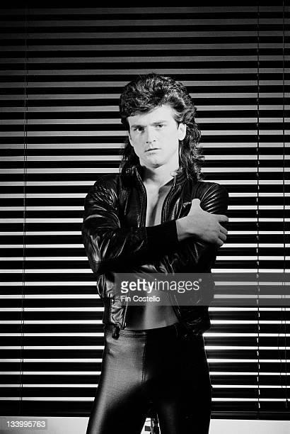 Singer Les McKeown posed in London in December 1979