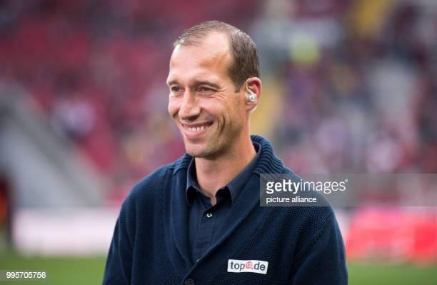 1st FC Kaiserslautern's new coach Jeff Strasser smiles in the stadium prior to the German 2nd Bundesliga match 1st FC Kaiserslautern vs SpVgg...