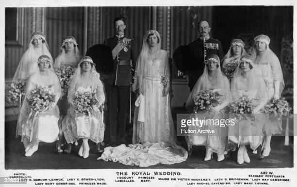 Viscount Lascelle, 6th Earl of Harewood and Princess Royal Mary Harewood , Countess of Harewood, only daughter of George V, seen here with...