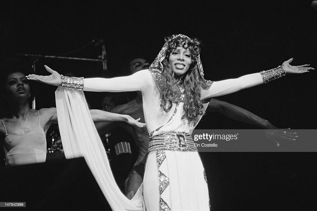 Donna Summer At Radio City : News Photo