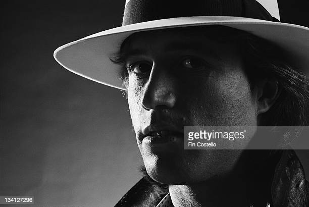 English singer Andy Gibb posed in London in February 1980