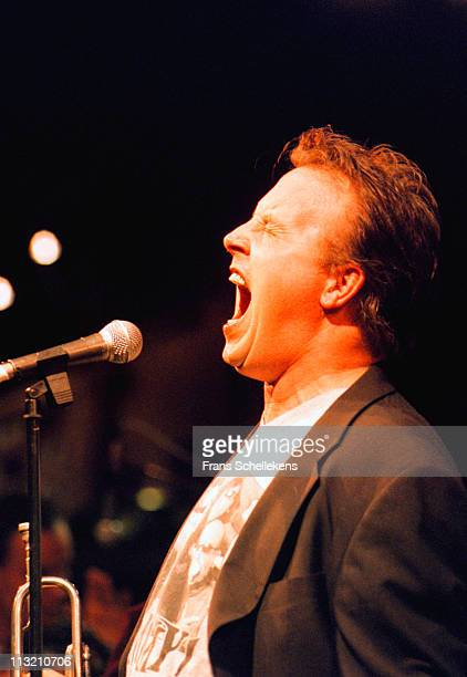 1st FEBRUARY: singer Bob Fosko performs live on stage at the BIMhuis in Amsterdam, Netherlands on 1st February 1999.