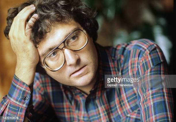 A portrait of American singersongwriter Randy Newman in Amsterdam Netherlands 1975
