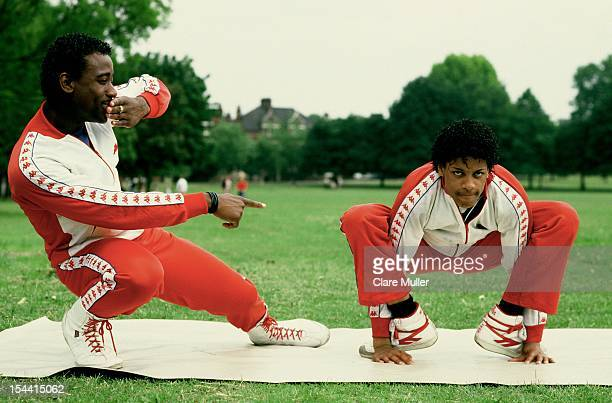 Breakdancers and bboy dancers perform in London in 1983