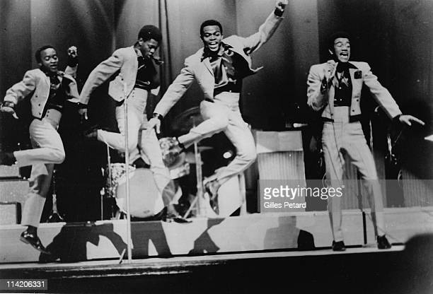 Detroit based band The Precisions perform live on stage in 1967 The Precisions are Arthur Ashford Michael Morgan Billy Prince and Denis Gilmore