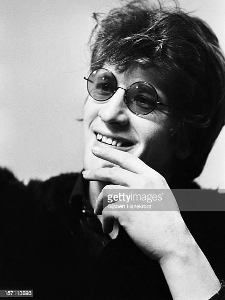 Dutch singer Herman Brood posed in Amsterdam Netherlands in 1974
