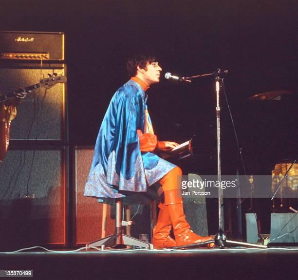 Gary Brooker from Procul Harum performs live on stage in Copenhagen Denmark in 1967