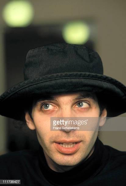 1st JANUARY: guitarist Joe Satriani posed at the Americain hotel in Amsterdam, Netherlands on 1st January 1990.