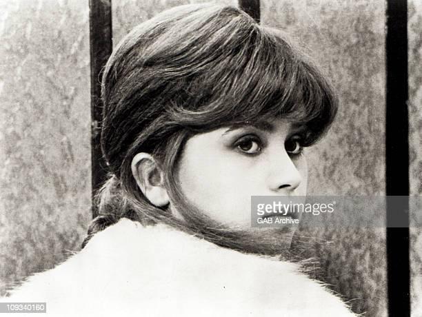 Photo of French actress Maria Schneider circa 1970
