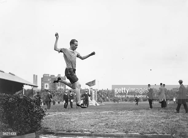 Championships at Stamford Bridge, London. Paavo Nurmi , who won nine Olympic Gold Medals and set 22 official world records.