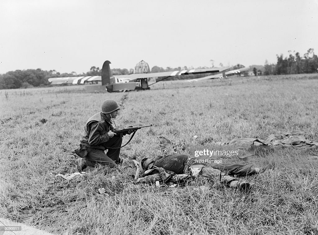 Fighting In Normandy : News Photo