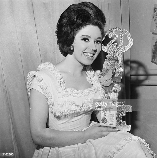 Pop singer Susan Maughan who had success in 1962 with her hit 'Bobby's Girl' celebrating her twentyfirst birthday