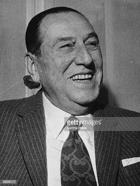 Juan Domingo Peron president of Argentina who had a profound effect on the nation's politics