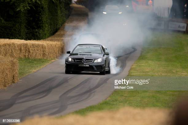 MercedesBenz AMG at Goodwood on 1st July 2017 in Chichester England