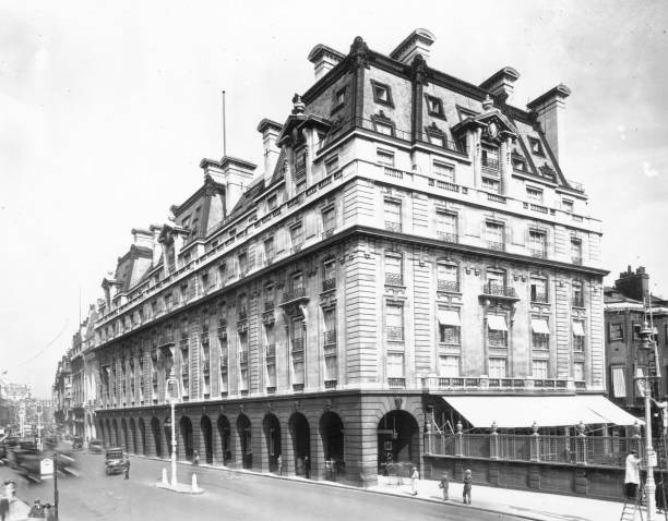The World famous Ritz Hotel, built in London's Piccadilly...