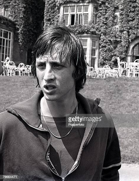 1st June 1971 Dutch football star Johan Cruyff of Ajax Amsterdam