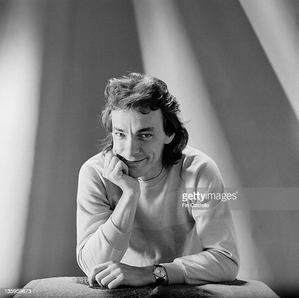 Drummer Neil Peart from Canadian Progressive rock group Rush posed in a studio in London in June 1980