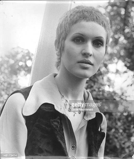 English singer Julie Driscoll posed in London in June 1968